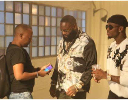Rick Ross and Diamond Platnumz finally shoot video for their new song (Video)