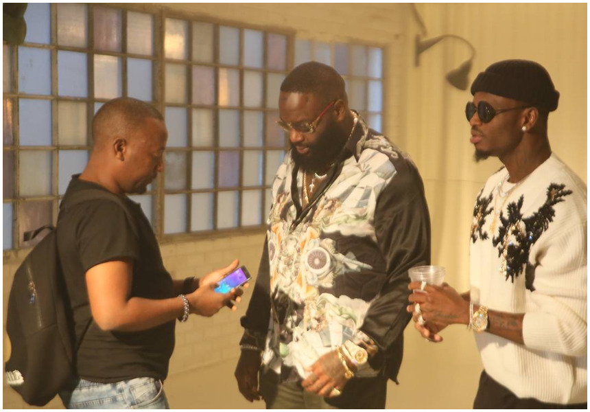 Image result for diamond platnumz and rick ross