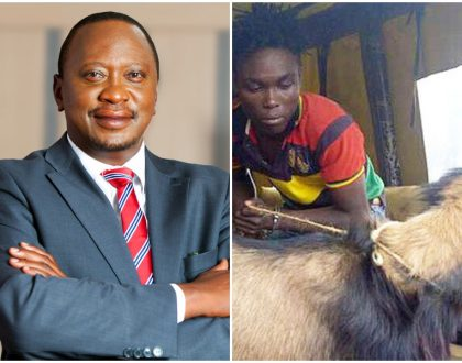 Uhuru Kenyatta's vote saves goat thief from being lynched by a mob