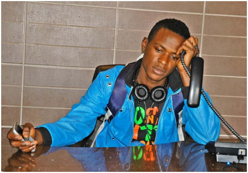 """Get your own!"" Fans tell Willy Paul after posing with this cute baby"