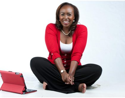 """I fooled all of you"" Caroline Mutoko's blonde moment reviewing Samsung was a big setup"