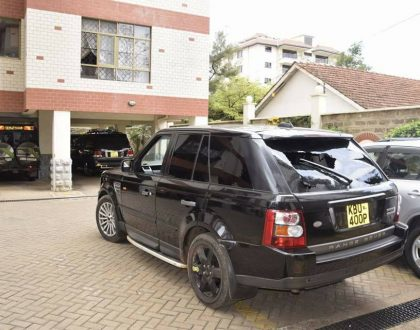 """Police followed me to my home. They want to kill me"" Gladys Wangu narrates how police shot at her Range Rover"