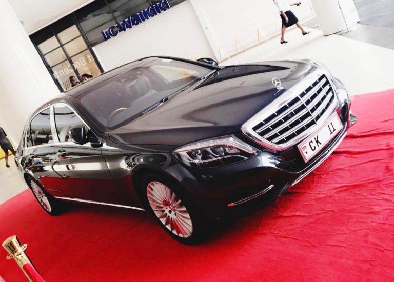 Chris Kirubi's Mercedes-Maybach S 500