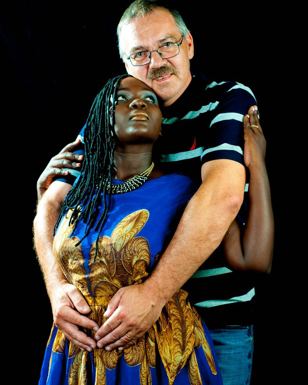 Nyota Ndogo and Henning Nielsen excepting their first child together