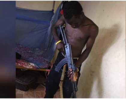 Suicidal Nasa supporter arrested with three rounds of 9mm ammunition (Photos)