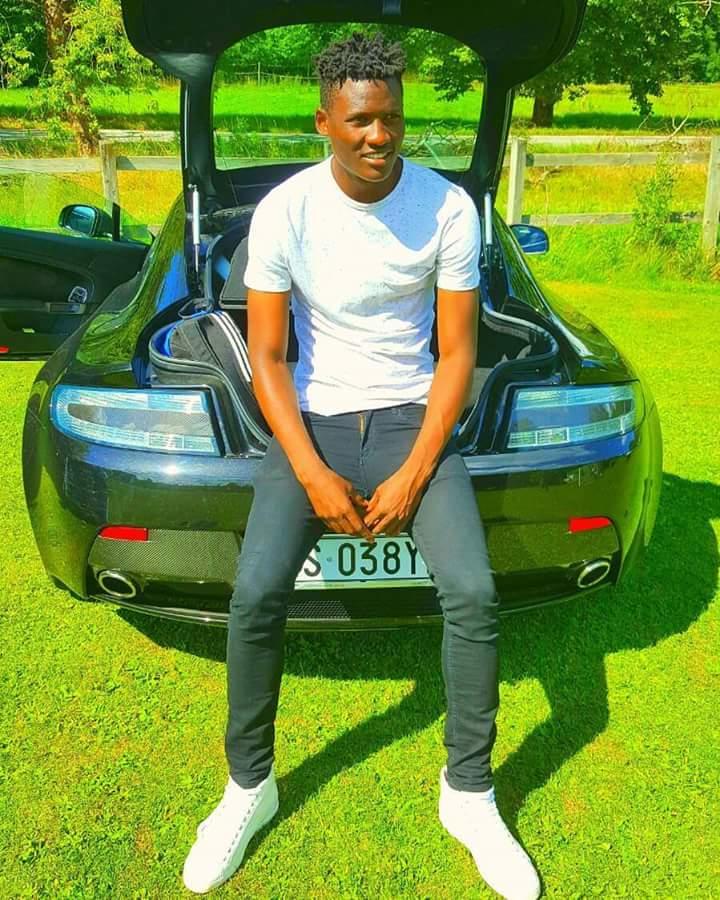 Michael Olunga's Aston Martin DB9