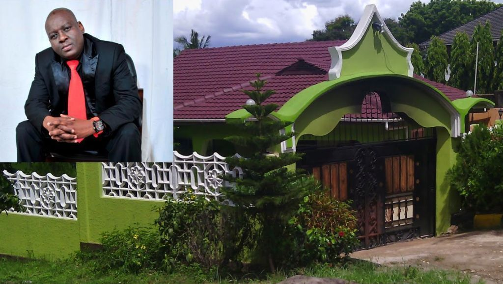 Professor Jay sheds tears as his multi-million shillings palatial home is demolished to pave way for road expansion (Photos)