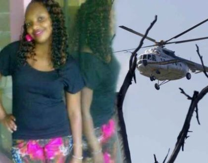 """""""She was not involved with any of the victims"""" Close relative to the pretty lady who died in the Nakuru chopper crash speaks!"""