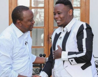 President Uhuru Kenyatta's message to Gospel artists Rufftone and Daddy Owen following the death of their father