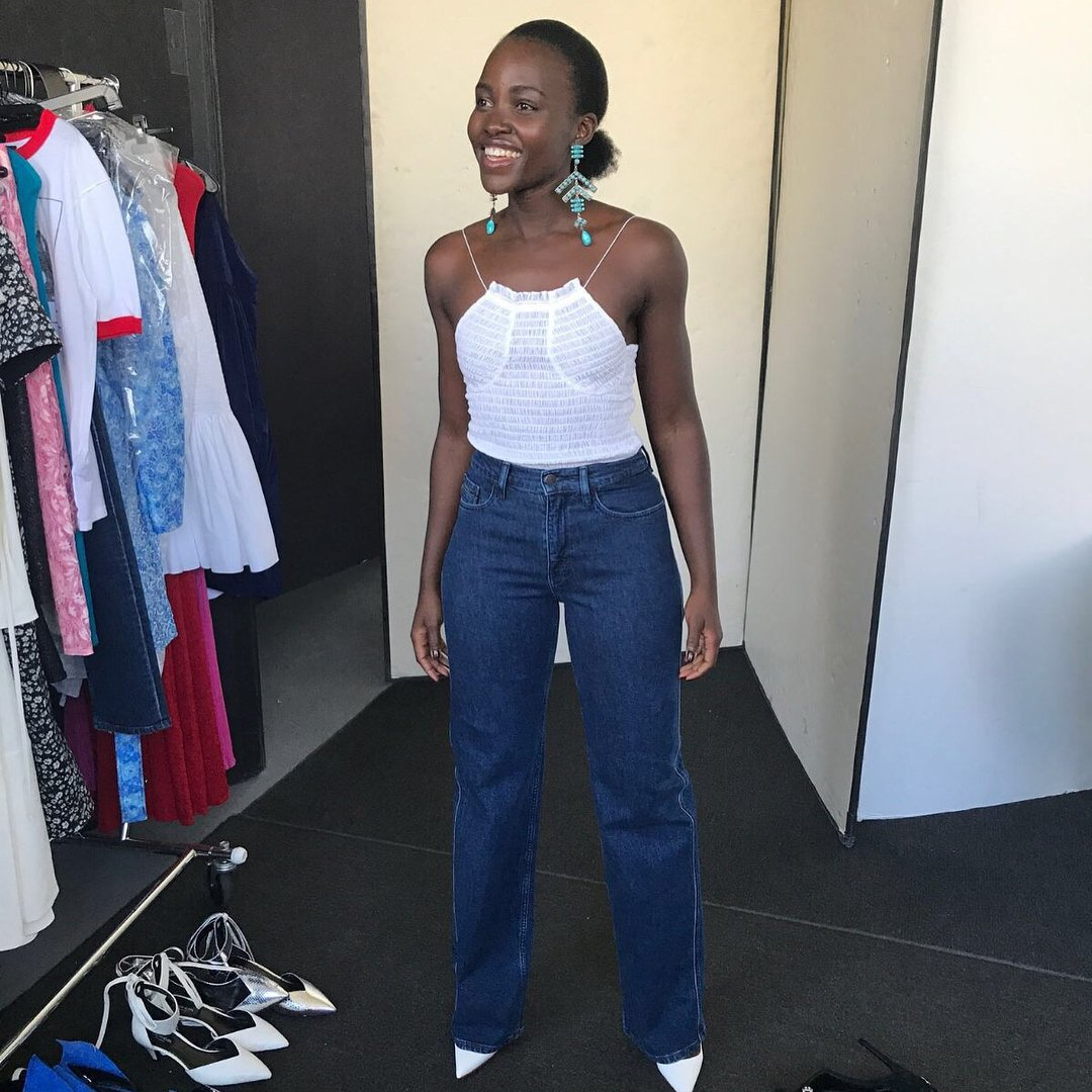 Lupita Nyong'o calls out magazine for Photoshopping out her 'kinky, coily hair'