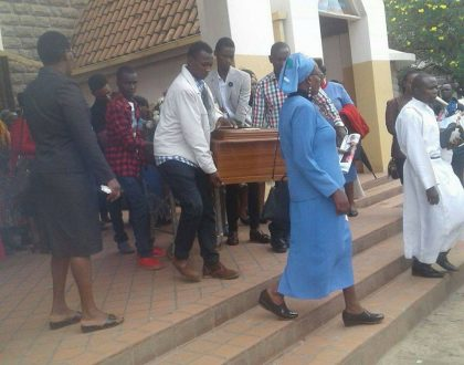 A mother eulogizes her son after he was gunned down by Hessy