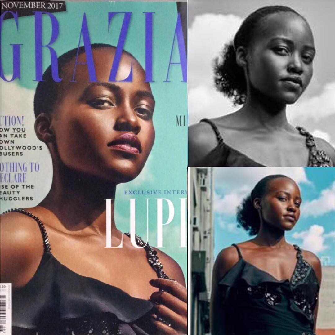 'Disappointed' Lupita Nyong'o calls out British magazine for photoshopping her 'kinky hair'