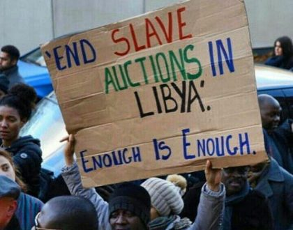 Sauti Sol, Catherine Kamau among Kenyan celebs who have joined calls to end Libya's slave trade of Africans