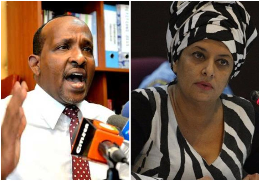Aden Duale's three-year affair with former presidential candidate Nazlin Umar exposed in a steamy audio