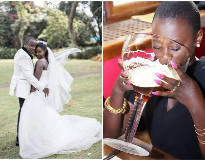 Akothee's message to Celina and Phil Karanja leaves the internet in stitches