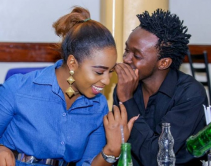 "Shots fired: ""Weh uko hapo, unakula tu!"" Willy Paul tells Bahati's wife"