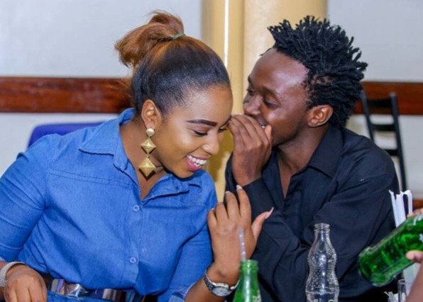 Photo of Bahati's new born baby girl, Heaven Bahati!