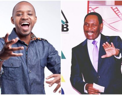 """You're a thief"" Boniface Mwangi's barrage of insults force Ezekiel Mutua to bury his head in the sand"