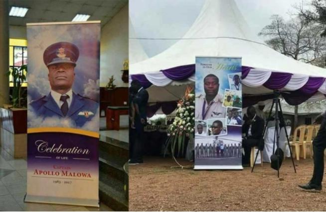 Captain Malowa's funeral