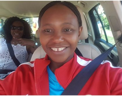 """She looks like your sister yawa"" Carol Radull's mother stuns netizens with her young look (Photos)"