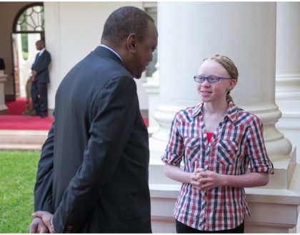 Goldalyn Kakuya going places as president Uhuru hosts her in State House for talks