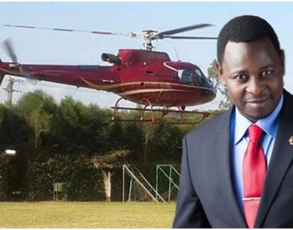 City tycoon who uses chopper like the way hustlers use matatus reveals why he wears two watches worth 500,000