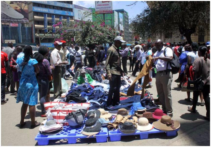 10 photos of hawker infestation of Nairobi CBD that make Nairobians miss Kidero