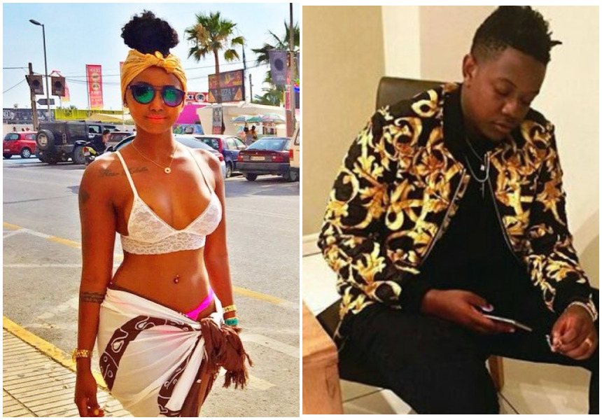 """""""We can now party without worrying"""" Huddah Monroe cozies up to Mugabe's son after his father resigned as president"""