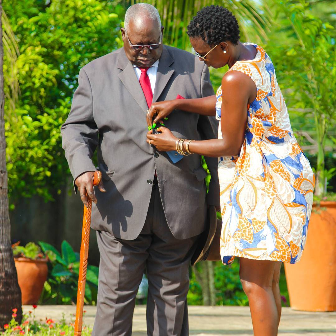Akothee celebrates her dad's 81st birthday in style