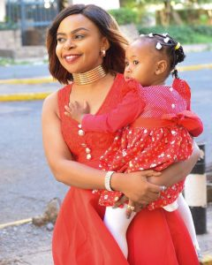 Size 8 with daughter