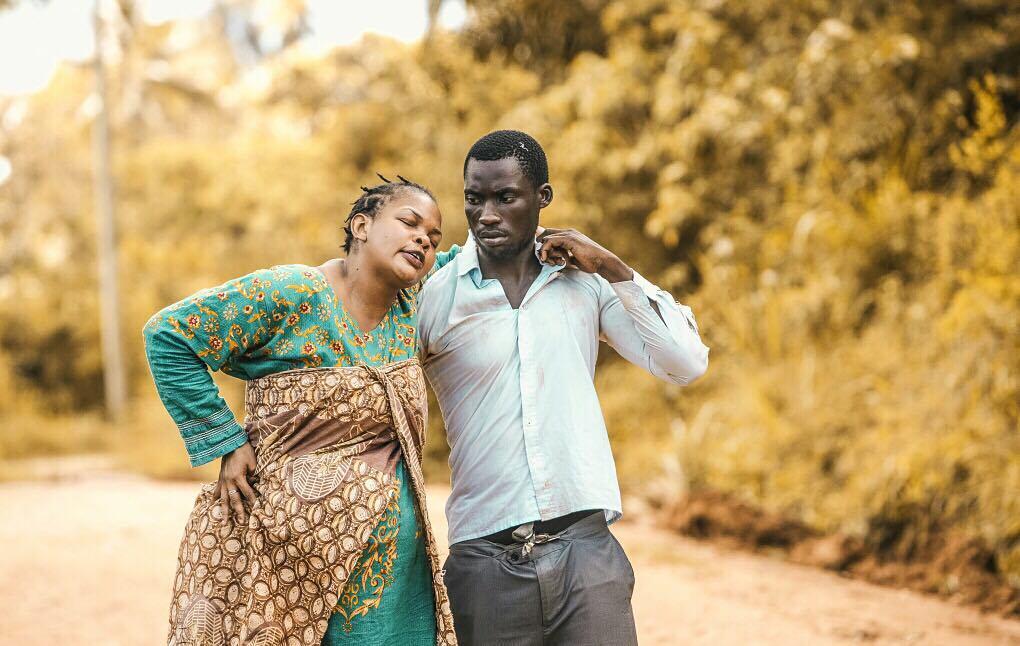 Tearful: Wema Sepetu admits she is desperate to be called 'Mum'