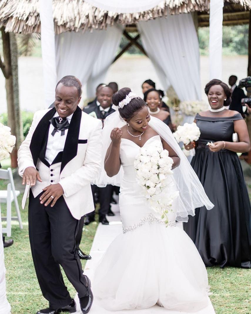 Catherine Kamau weds Phil Karanja
