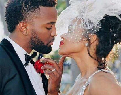 """Gyal A Bubble"" Dancehall hit maker weds the love of his life in white wedding"