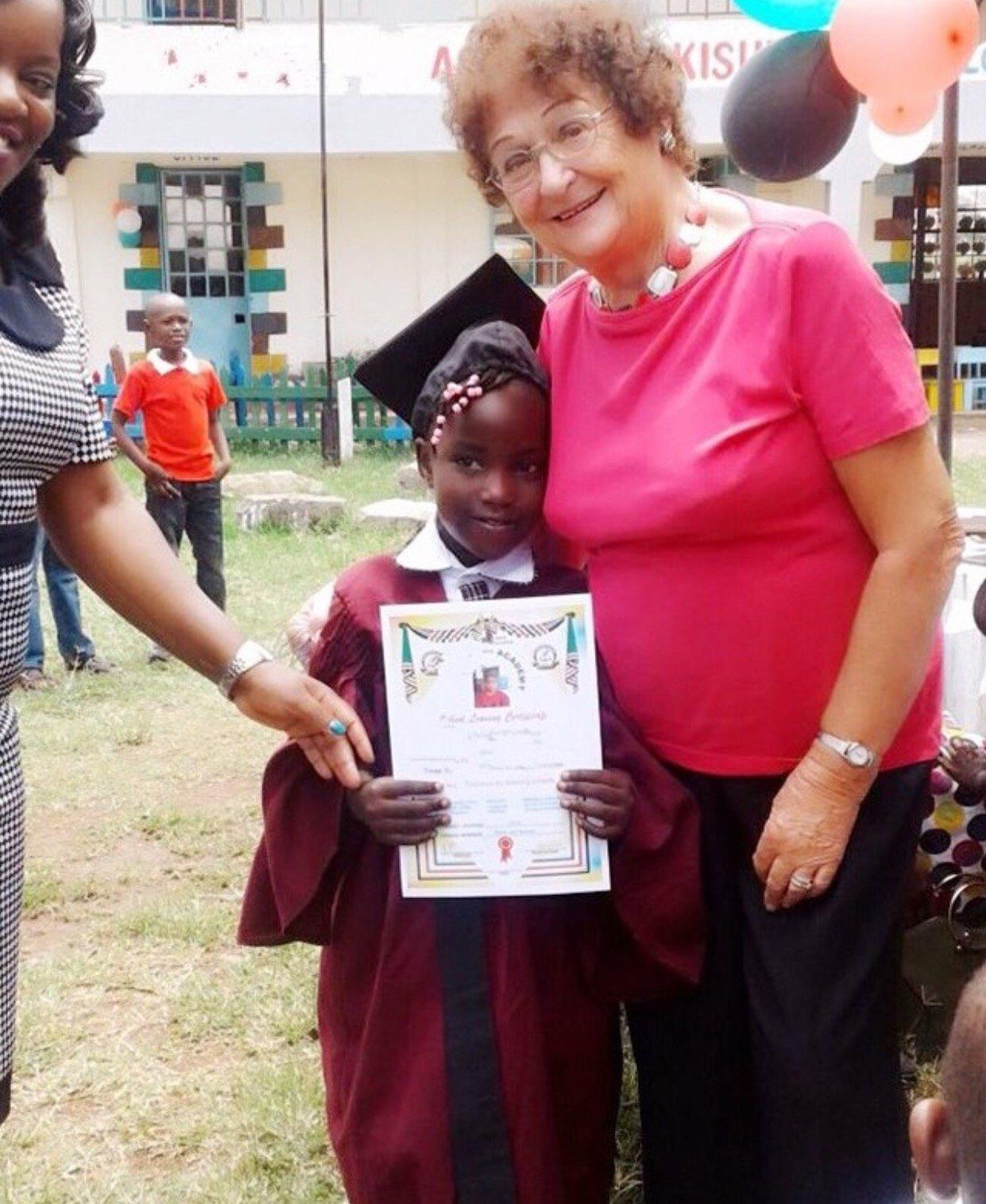 Mishi's daughter graduates