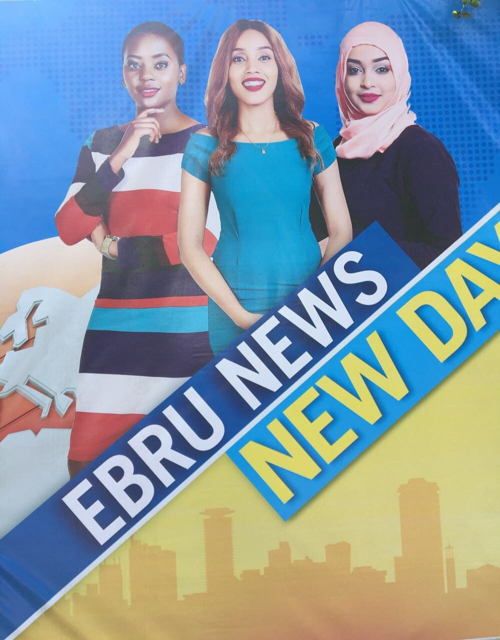 Ebru TV's billboard