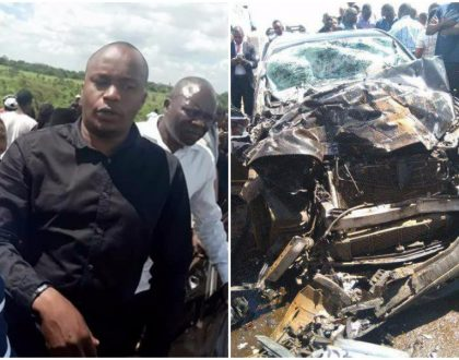 """My bodyguards are now out of danger"" Jaguar narrates the cause of Sunday morning accident"