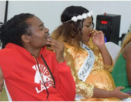 Jua Cali and wife welcome baby number 3, but did he also propose? (Photos)
