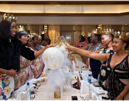 Celina celebrates lavish bridal shower at a luxurious 5-star hotel (Photos)