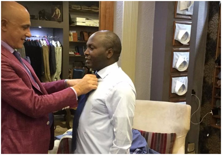 Donald Kipkorir flies in Italian tailor to suit him up as the Canaan dream is stalled by Supreme Court ruling