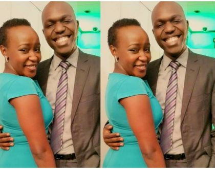 """Because I love you Larry"" Terryanne Chebet and Larry Madowo publicly flirt with each other"