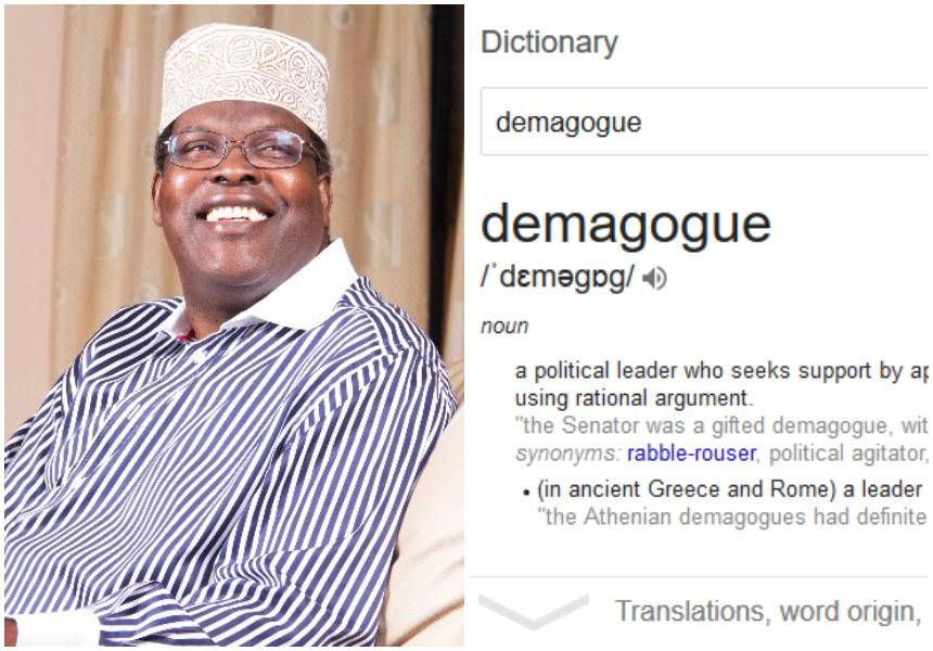 Top 10 things Kenyans have been searching on Google... Miguna Miguna's 'Demagogue' tops the list