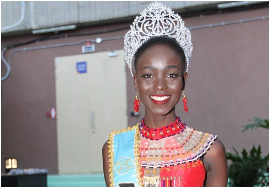 Miss World Africa Magline Jeruto claps back at haters saying she's too dark to win any beauty pageant