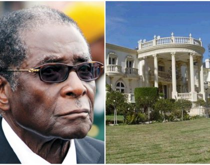 10 photos of Robert Mugabe's 25-bedroom mansion which has now become his prison