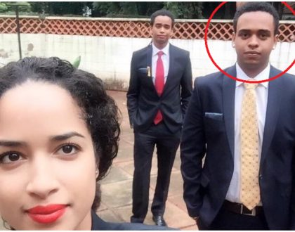 10 photos of Sean Andrew's elder brother Mwai Kibaki Jnr and the seriously hot lady he's dating