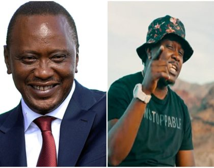 Uhuru Kenyatta throws his weight behind Nyashinski
