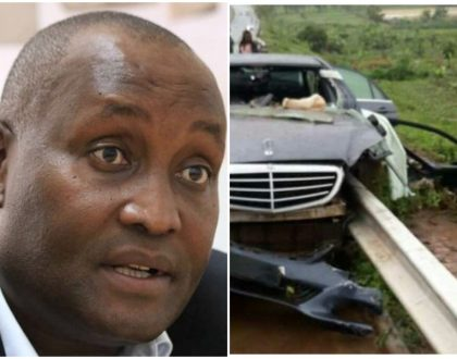 Ghafla! Investigate: Nyeri governor Wahome Gakuru is a victim of faulty guardrails. He ought to have survived the accident