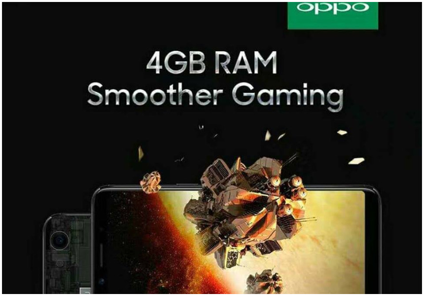 OPPO F5 premium model which has 20MP front camera and 4GB RAM unveiled in Kenya (Photos)