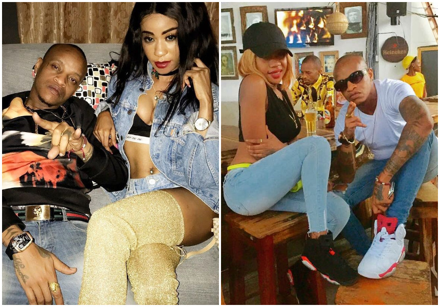 """That bi** keep on chasing after him"" Noti Flow takes a swipe at Amber Lulu as she declares Prezzo is officially hers"