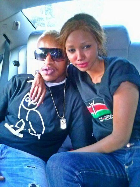 Prezzo and Huddah spotted together years after their nasty break up