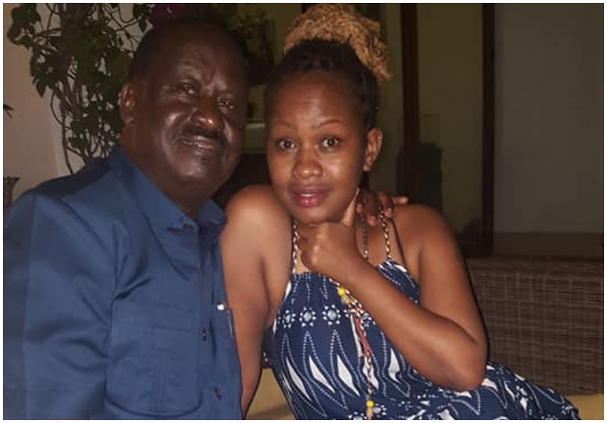 """""""You just landed me a huge deal"""" Pretty lady seen in viral photos with Raila thanks Kenyans for publicity"""
